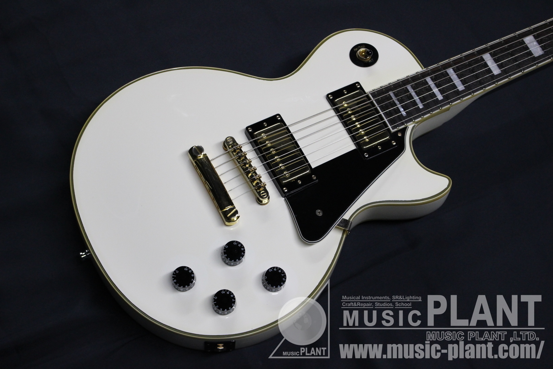 Les Paul Custom Pro Alpine White追加画像