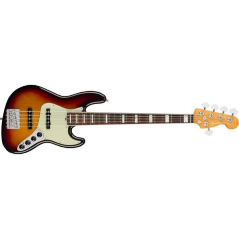 Fender-5弦ジャズベースAmerican Ultra Jazz Bass V Ultraburst
