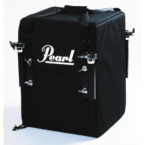 Pearl-コンパクトドラムRT-703/C #31Jet Black Rhythm Traveler Black Box