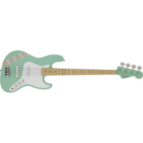 Fender-ジャズベースSILENT SIREN Jazz Bass Surf Green