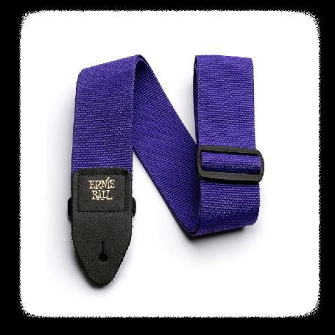 ERNIE BALL-ストラップPurple Polypro Strap