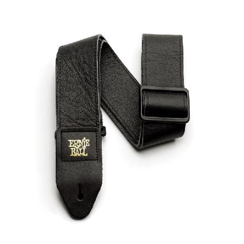 ERNIE BALL-ストラップ2 Tri-Glide Italian Leather Strap Black