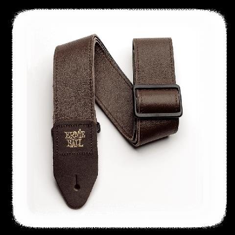 ERNIE BALL-ストラップ2 Tri-Glide Italian Leather Strap Brown