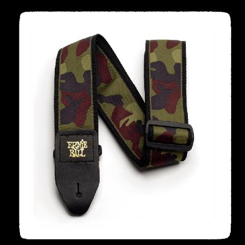 ERNIE BALL-ストラップTraditional Camo Guitar Strap