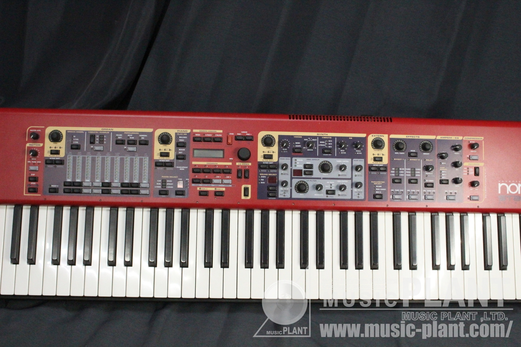 NORD Stage 76パネル画像