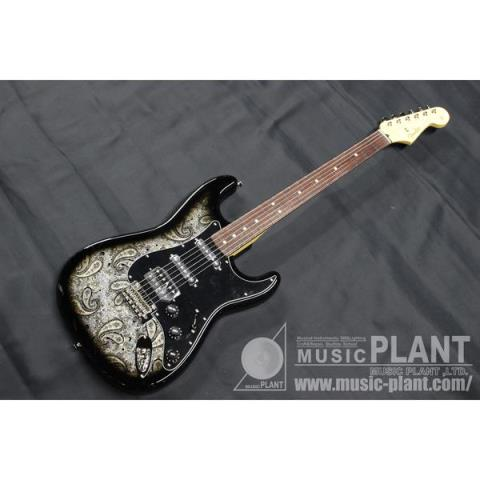Fender-ストラトキャスターLimited Stratocaster HSS Rosewood Fingerboard Black Paisley