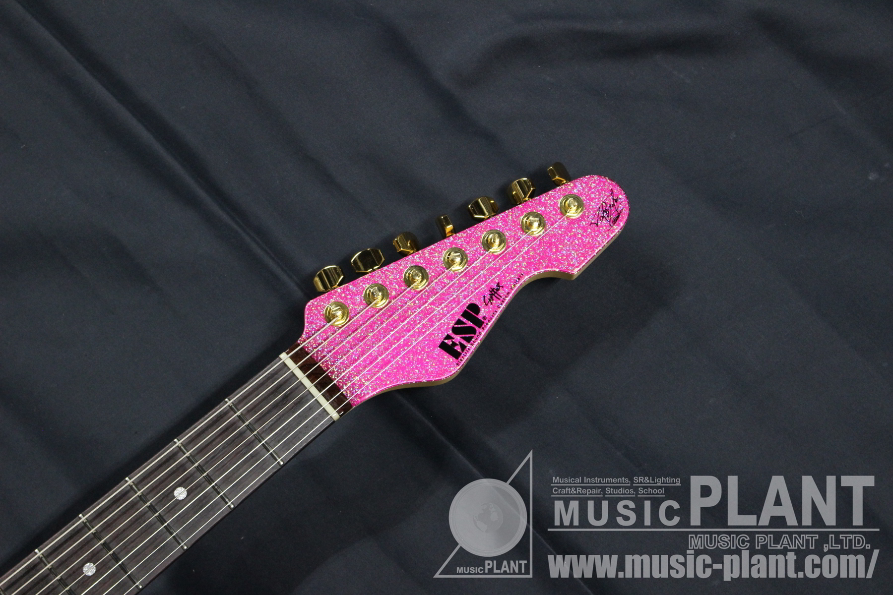 SNAPPER-7 Ohmura Custom Twinkle Pink -Serial No.1-ヘッド画像