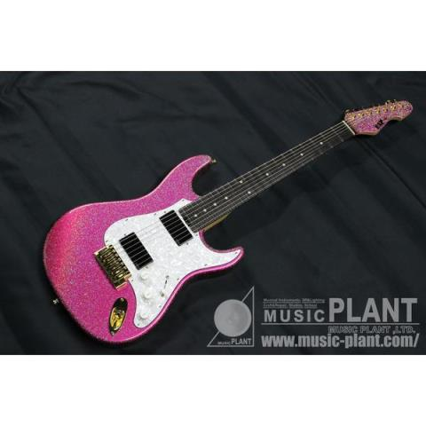 ESP-7弦ギターSNAPPER-7 Ohmura Custom Twinkle Pink -Serial No.1-