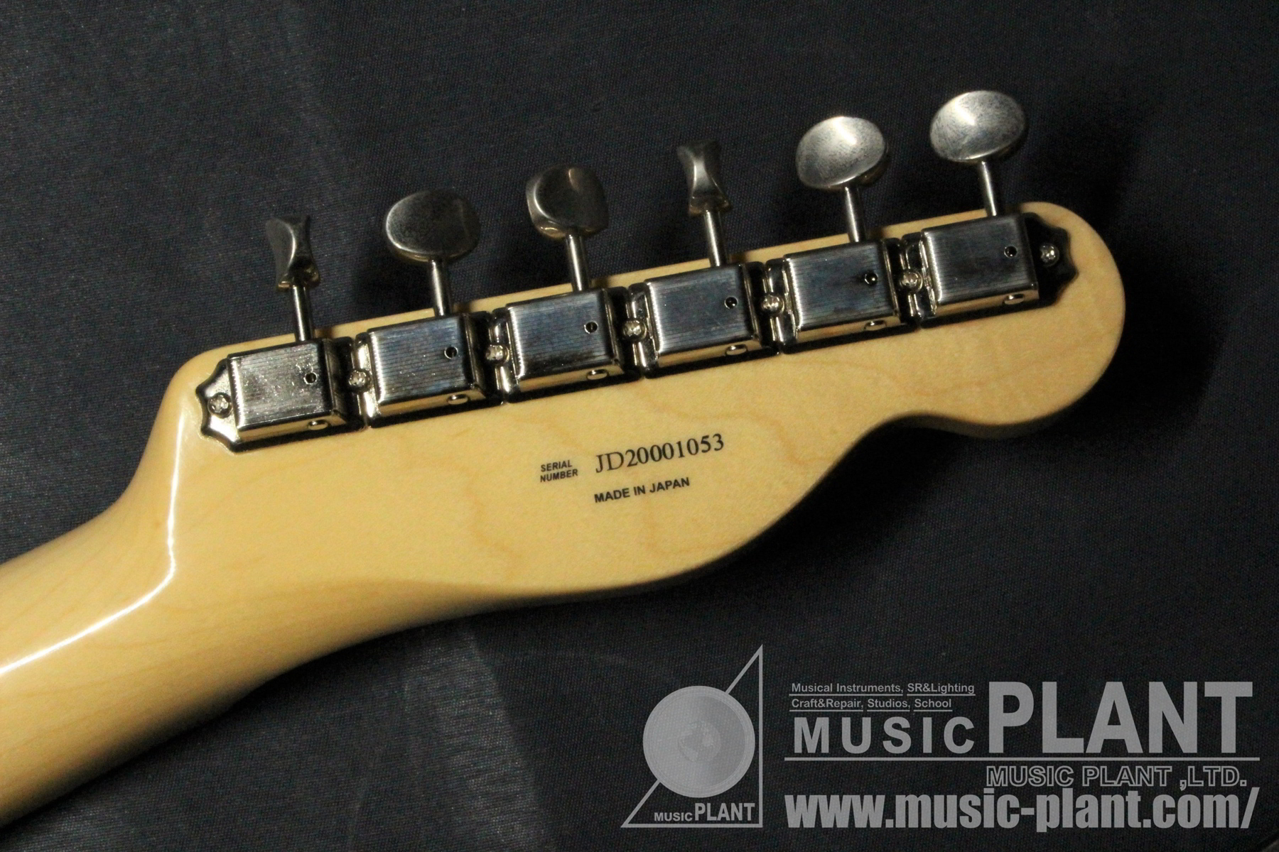 Made in Japan Traditional 50s Telecaster Left-Handed Butterscotch Blonde追加画像