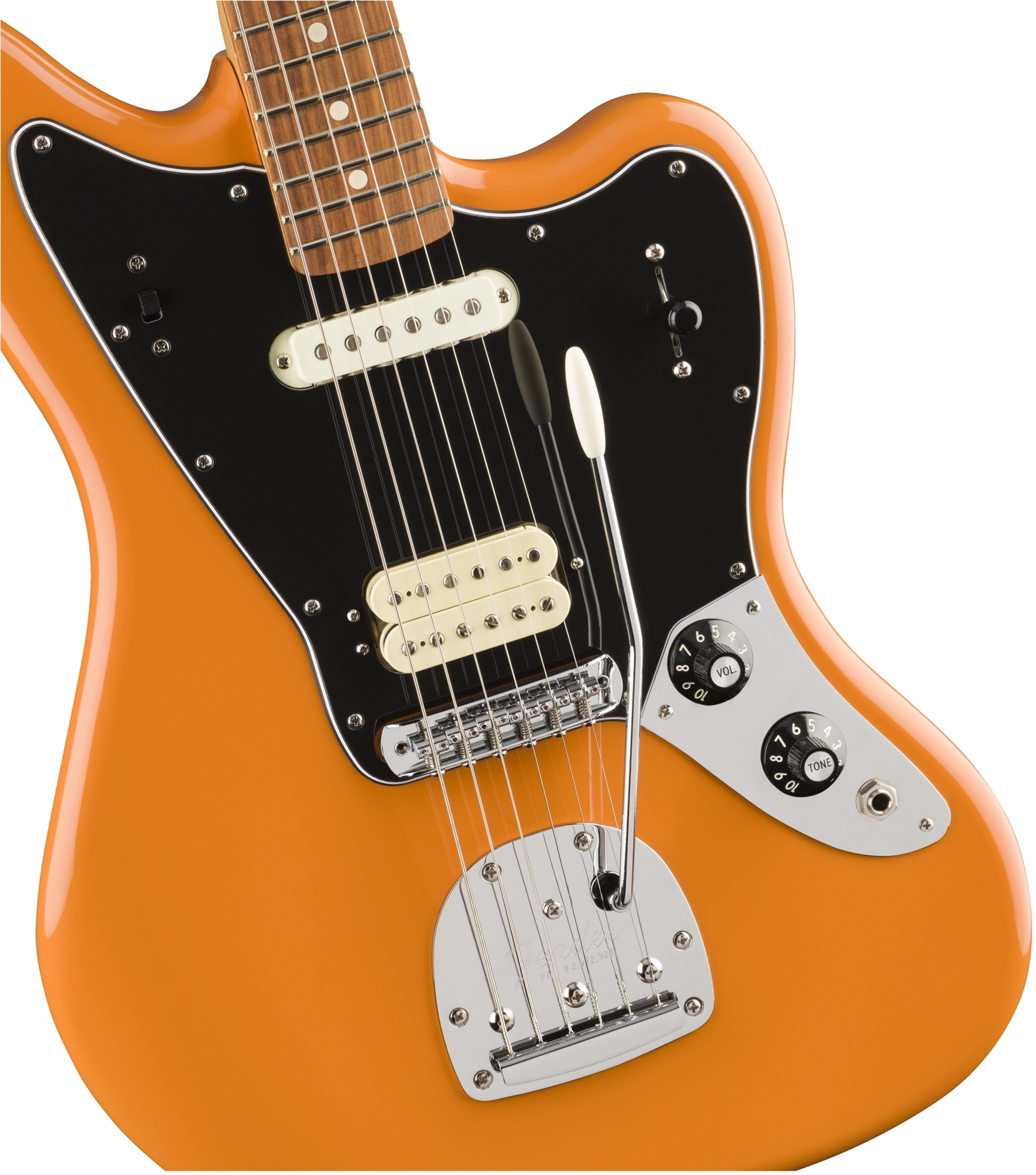 Player Jaguar Capri Orange (Pau Ferro Fingerboard)追加画像