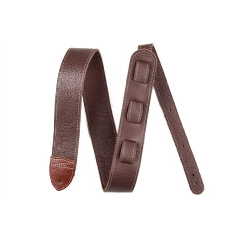 Fender® Custom HQ Leather Strap, Brownサムネイル