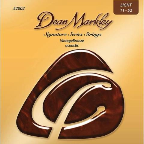 Dean Markley2002 Vintage Bronze Light 11-52
