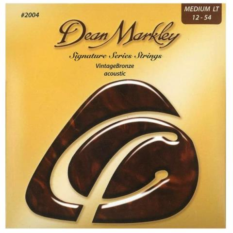 Dean Markley2004 Vintage Bronze Medium Light 12-54