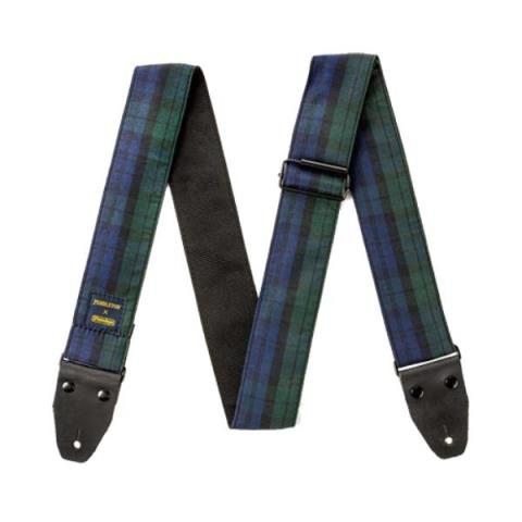 Jim Dunlop-ストラップPWM12 Black Watch Tartan Jacquard Strap