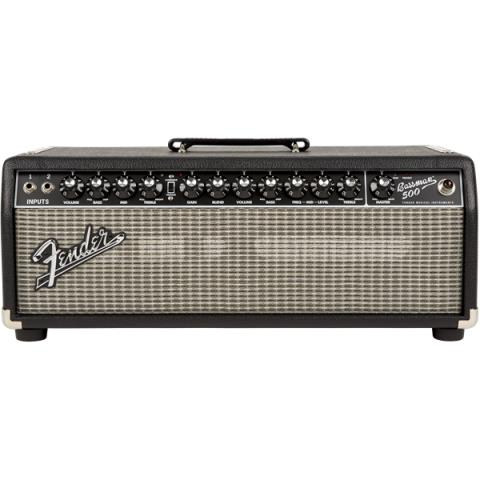 FenderBassman 500 Head Black/Silver