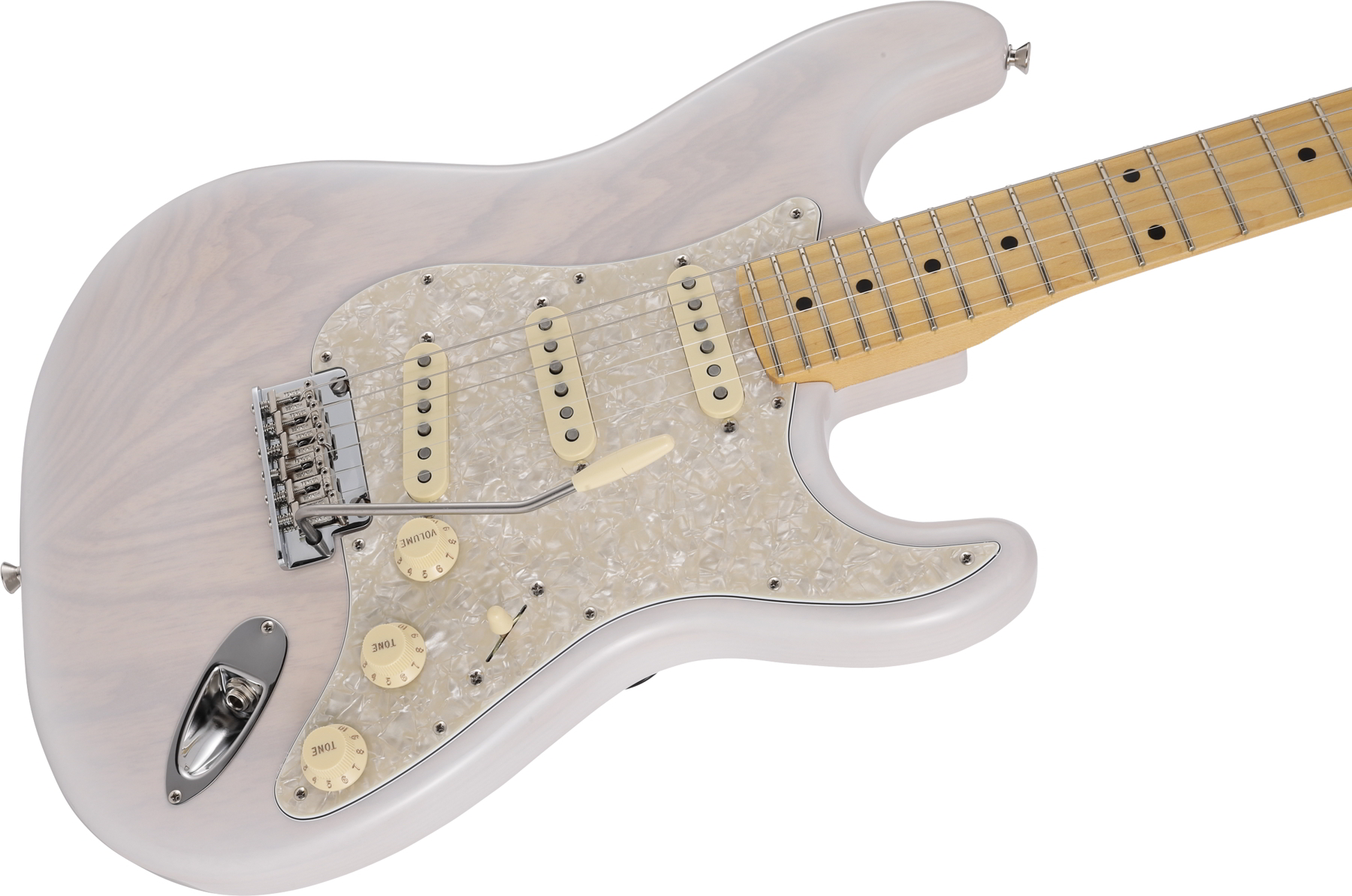Made in Japan 2019 Limited Collection Stratocaster Maple Fingerboard White Blonde追加画像