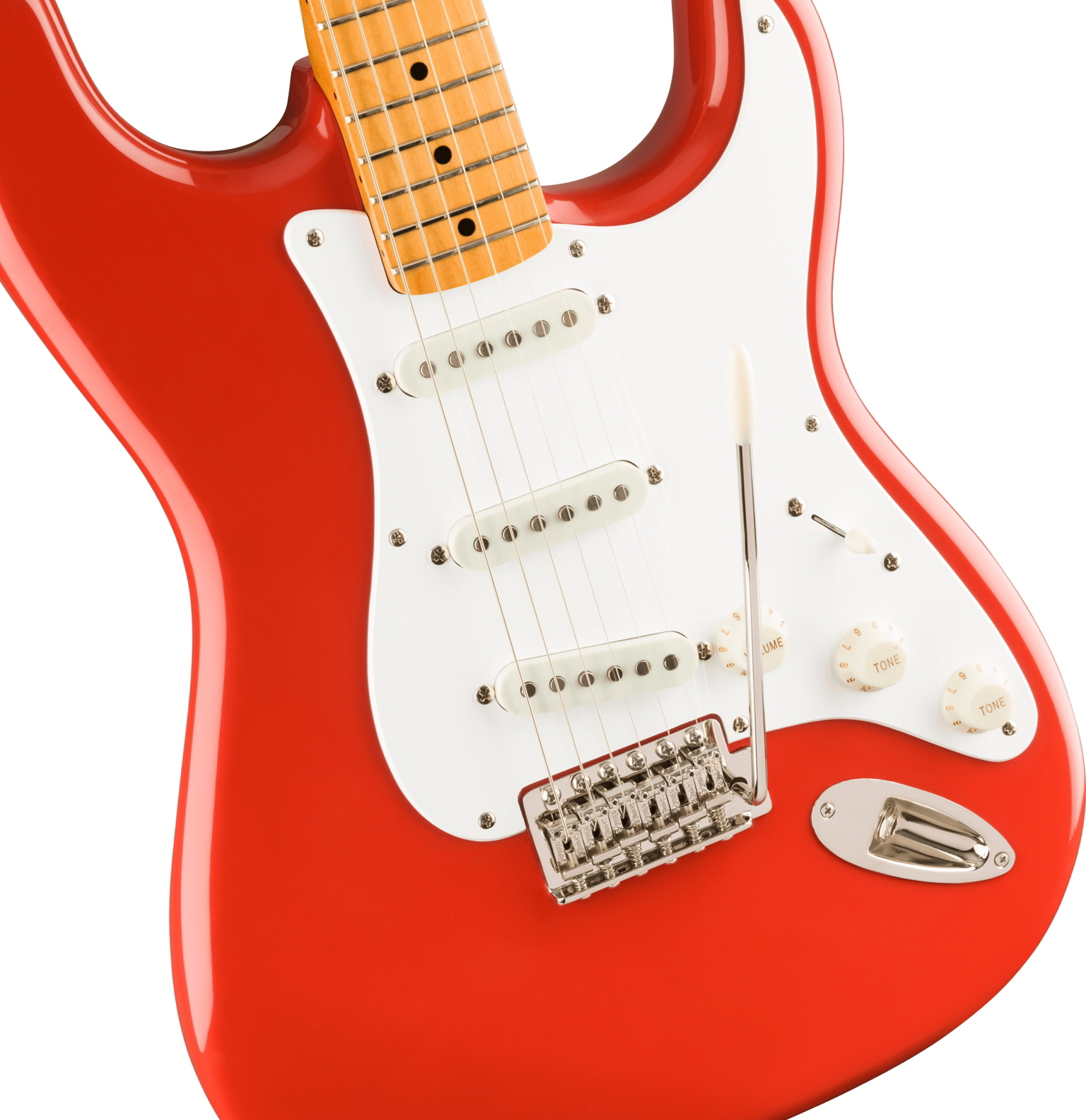 Classic Vibe '50s Stratocaster Maple Fingerboard Fiesta Red追加画像