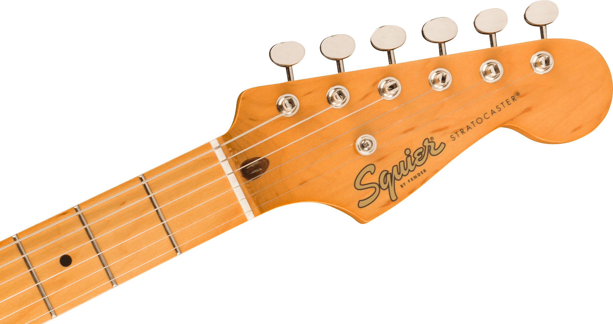 Classic Vibe '50s Stratocaster Maple Fingerboard Fiesta Redヘッド画像