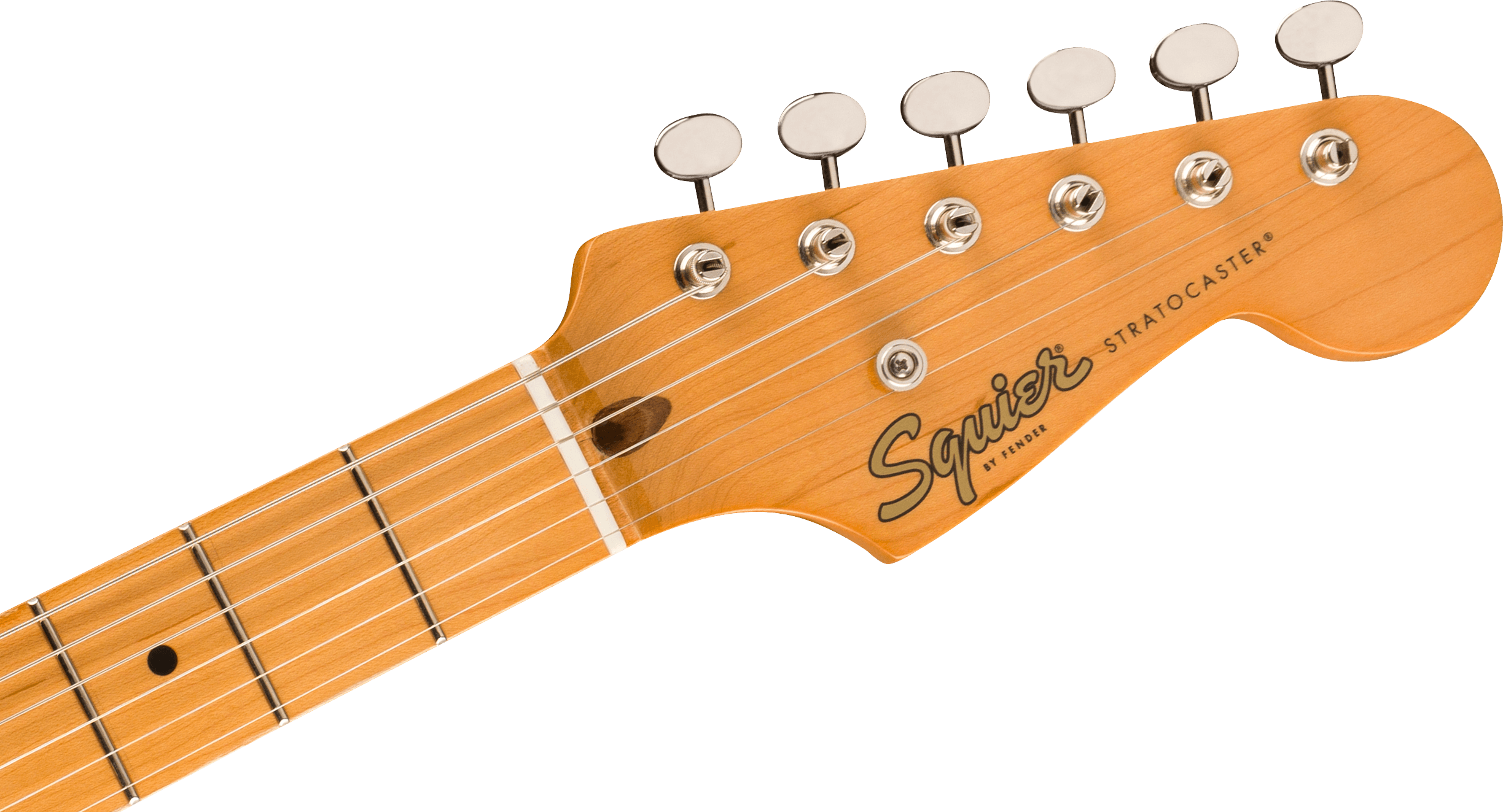 Classic Vibe '50s Stratocaster Maple Fingerboard 2-Color Sunburstヘッド画像