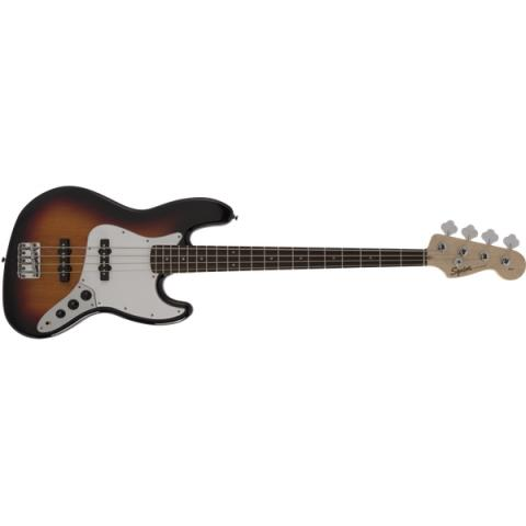 SquierFSR Affinity Series Jazz Bass Laurel Fingerboard  3-Color Sunburst