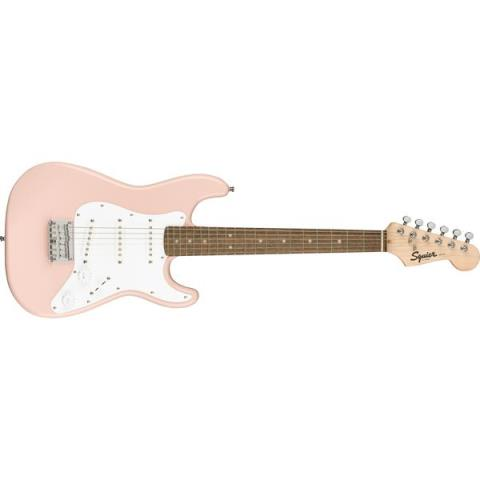 Squier-ストラトキャスターMini Stratocaster Laurel Fingerboard Shell Pink