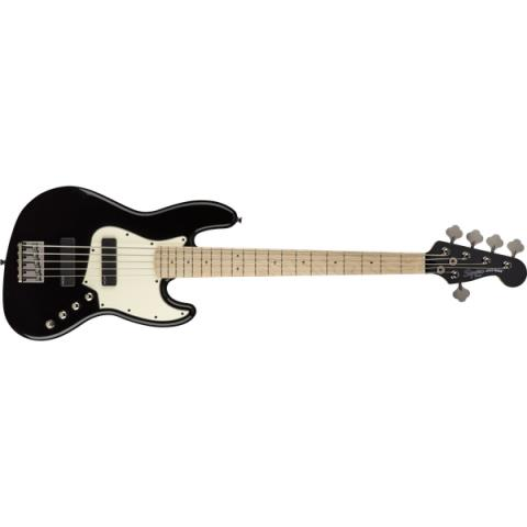 Squier-ジャズベースContemporary Active Jazz Bass V HH Maple Fingerboard Black