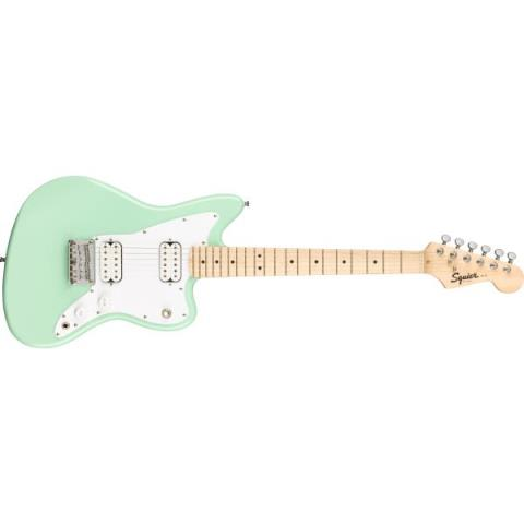 Squier-ジャズマスターMini Jazzmaster® HH, Maple Fingerboard, Surf Green