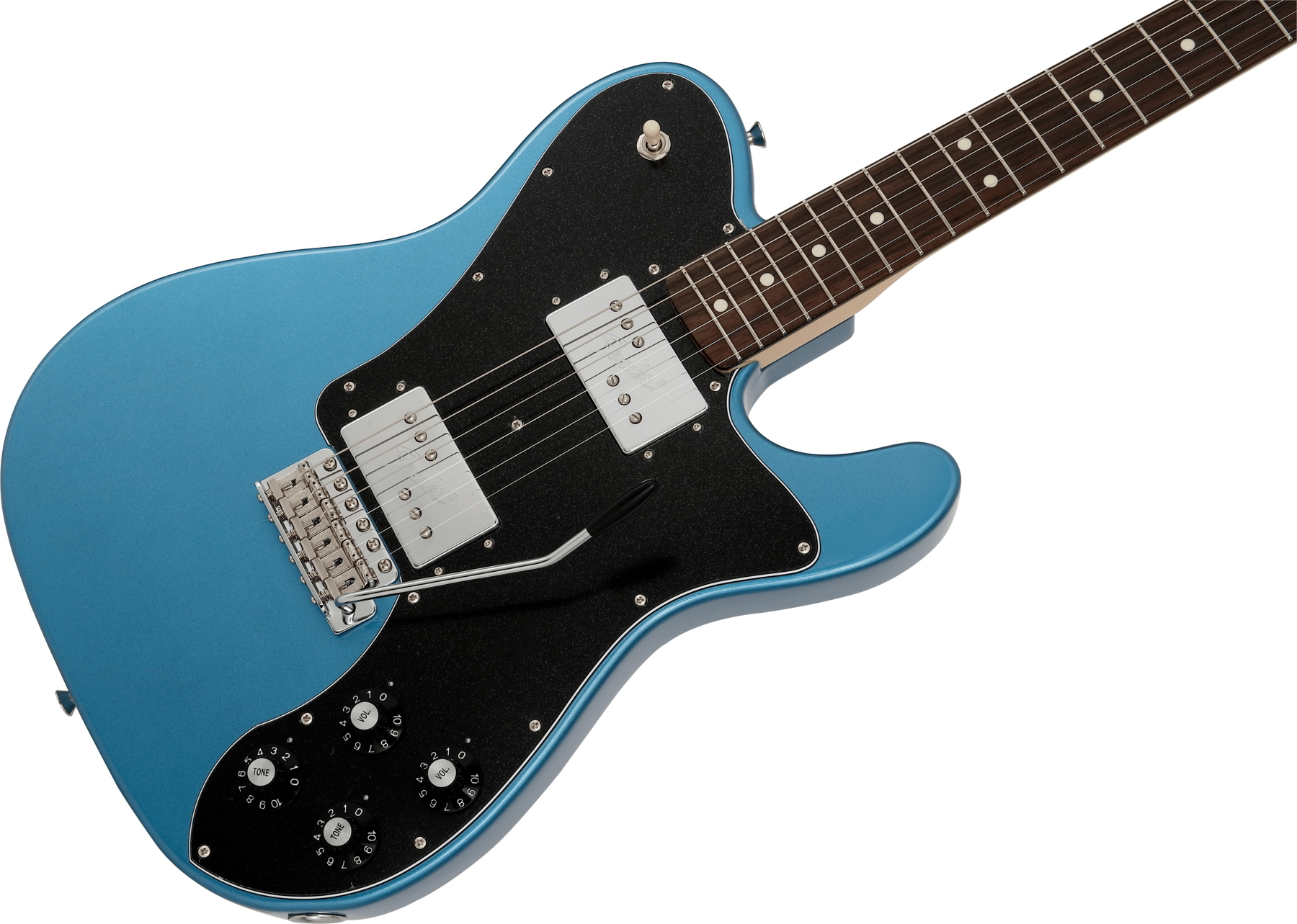 Made in Japan Limited 70s Telecaster Deluxe, with Tremolo Lake Placid Blue追加画像