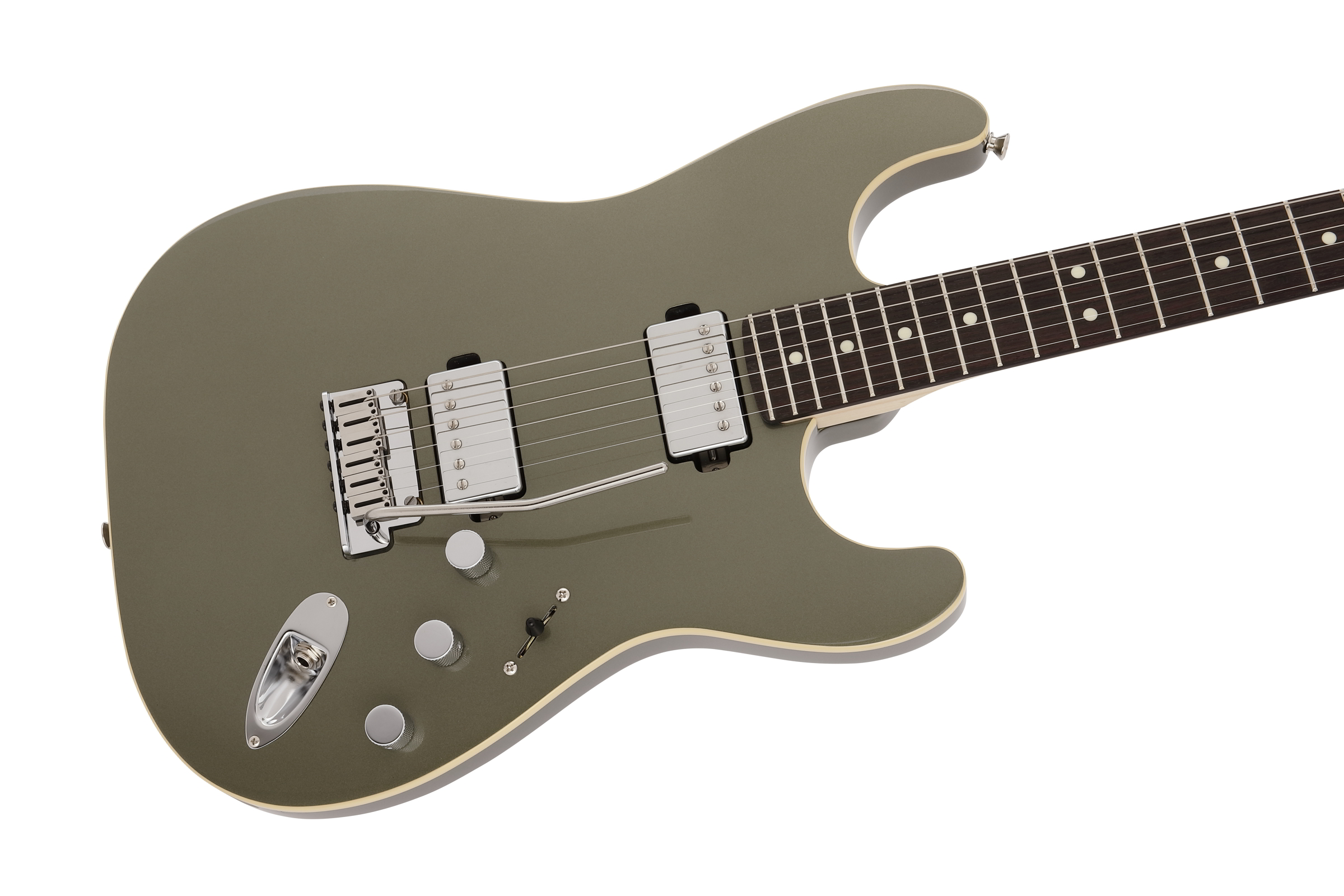 MADE IN JAPAN MODERN STRATOCASTER HH Jasper Olive Metallic追加画像