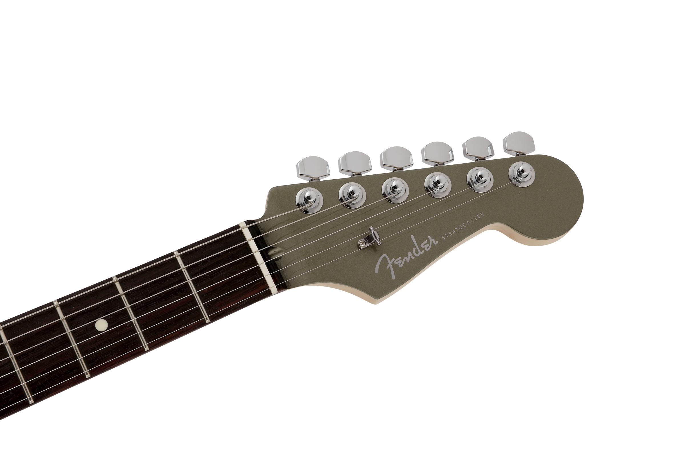 MADE IN JAPAN MODERN STRATOCASTER HH Jasper Olive Metallicヘッド画像