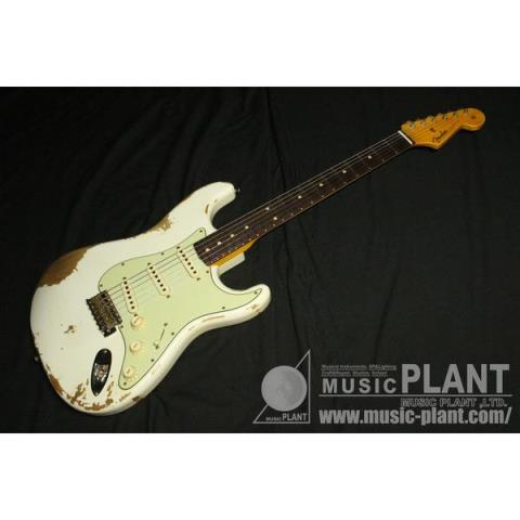 Fender-ストラトキャスター2020 Time Machine 1960 Stratocaster Heavy Relic Aged Olympic White