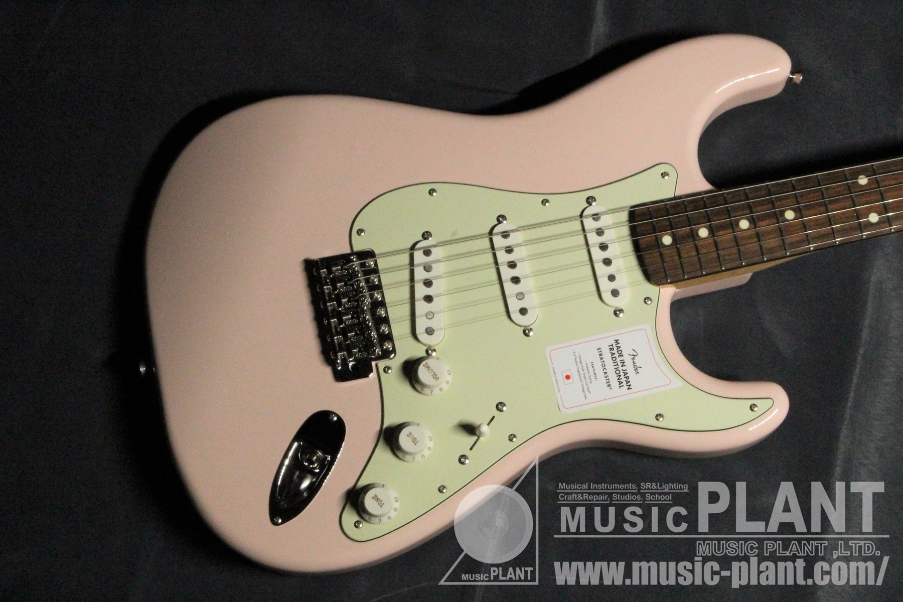 MADE IN JAPAN TRADITIONAL 60S STRATOCASTER Shell Pink追加画像
