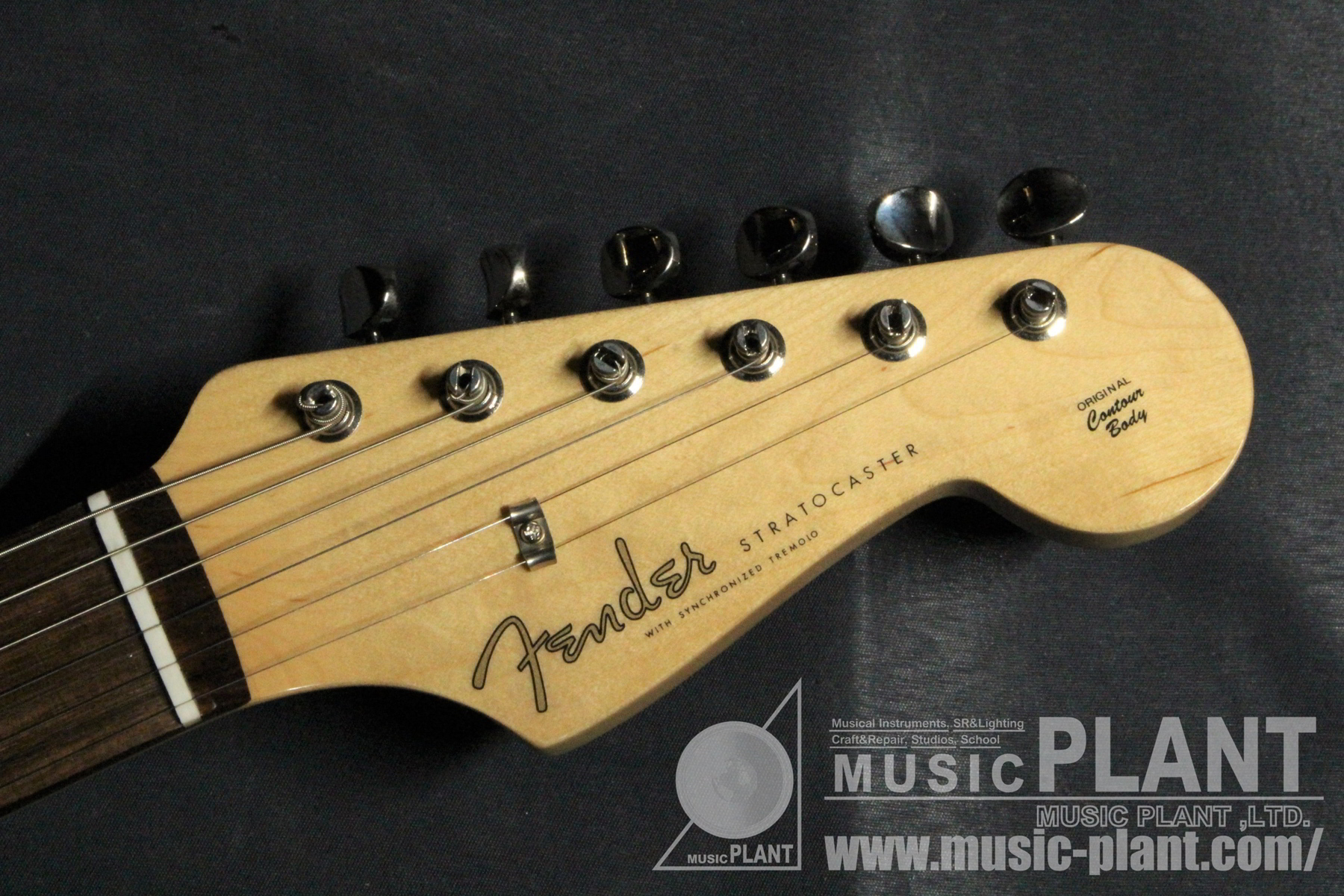 MADE IN JAPAN TRADITIONAL 60S STRATOCASTER Shell Pinkヘッド画像