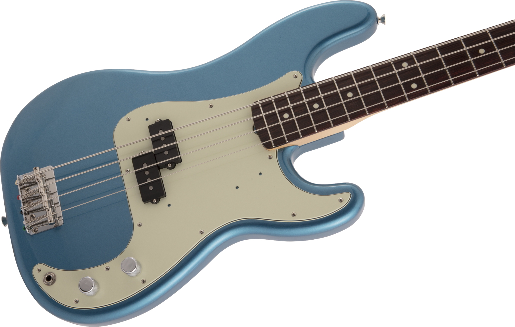 2020 Collection, Made in Japan Traditional 60s Precision Bass Rosewood Fingerboard Lake Placid Blue追加画像