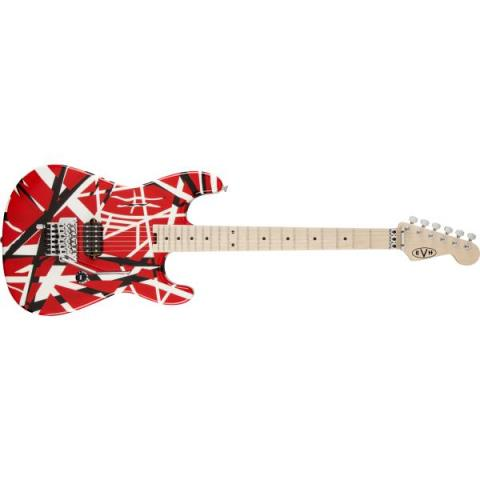 EVH-エレキギターStriped Series Red with Black Stripes