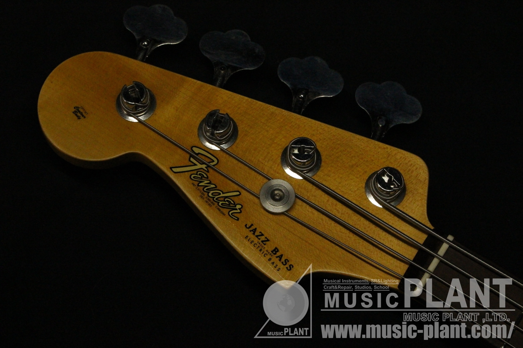 Limited Edition 62 Jazz Bass JRN Relic LHヘッド画像