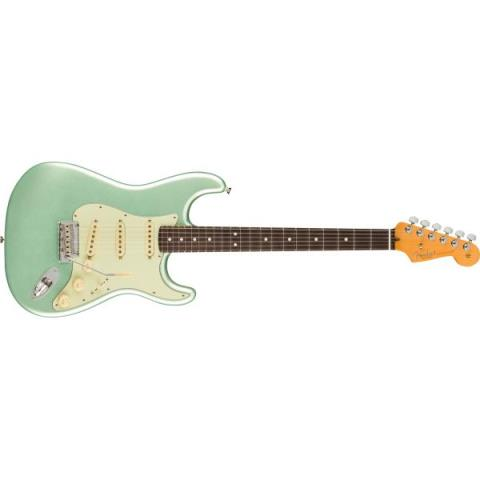 Fender-ストラトキャスターAmerican Professional II Stratocaster Rosewood Fingerboard, Mystic Surf Green
