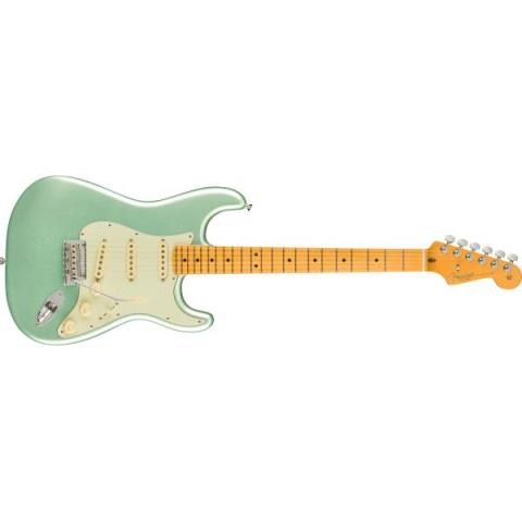 Fender-ストラトキャスターAmerican Professional II Stratocaster Maple Fingerboard, Mystic Surf Green