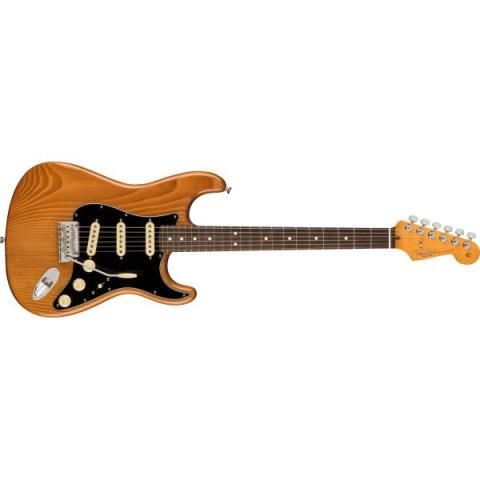 Fender-ストラトキャスターAmerican Professional II Stratocaster Rosewood Fingerboard, Roasted Pine