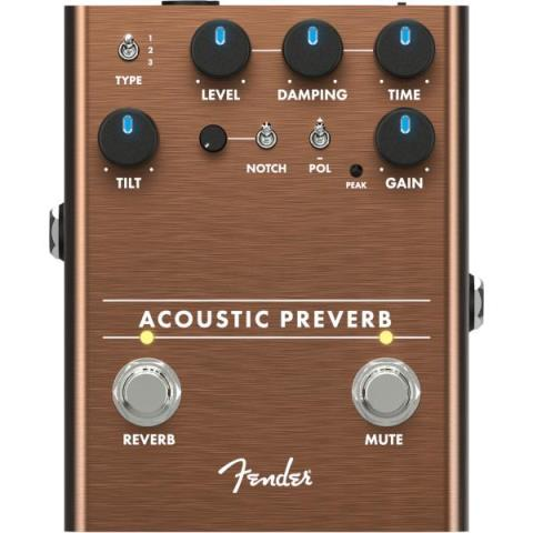 FenderAcoustic Preamp/Reverb