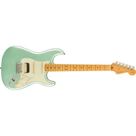 Fender-ストラトキャスターAmerican Professional II Stratocaster HSS, Maple Fingerboard, Mystic Surf Green