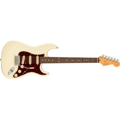 Fender-ストラトキャスターAmerican Professional II Stratocaster Rosewood Fingerboard, Olympic White