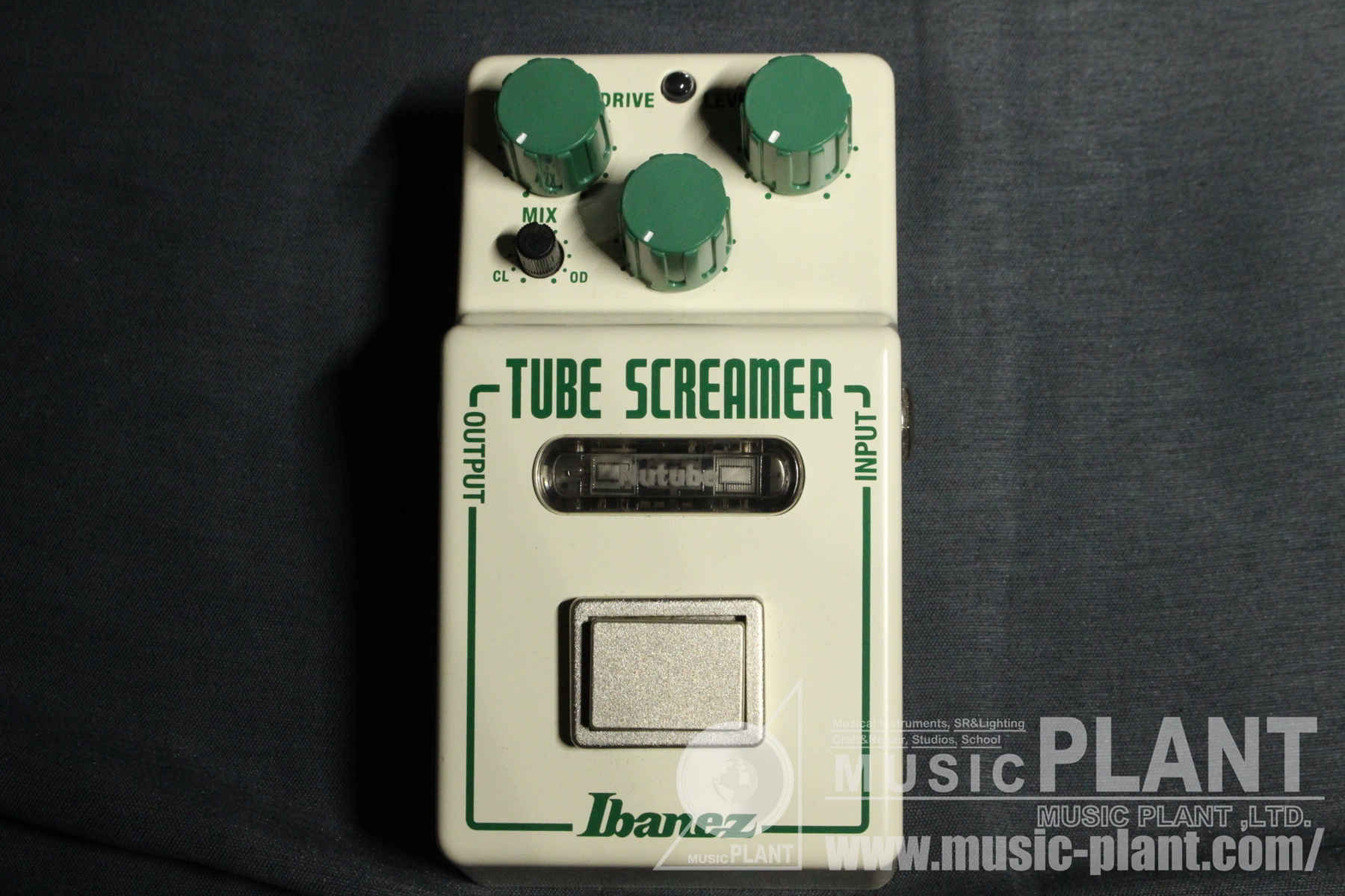 NTS NU TUBE SCREAMERパネル画像