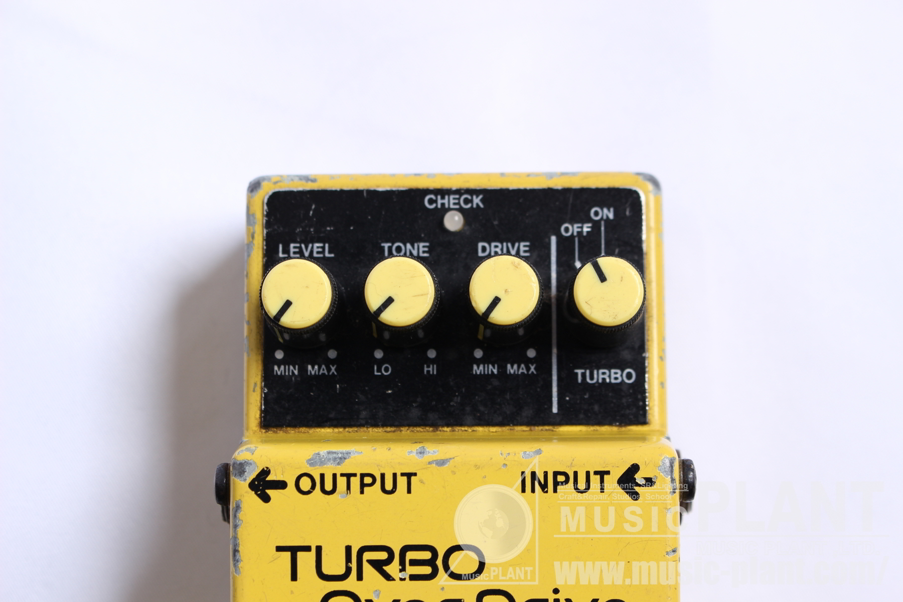 OD-2 TURBO OverDriveパネル画像