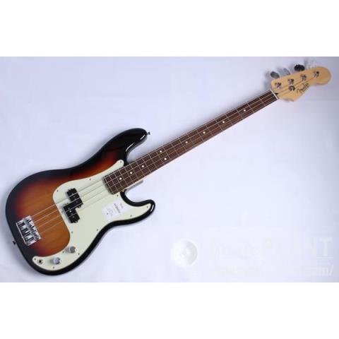 Fender-エレキベースMade in Japan Hybrid Ⅱ Precision Bass, Rosewood Fingerboard, 3-Color Sunburst