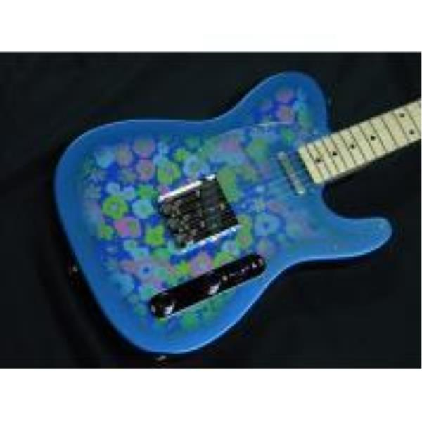 Fender-テレキャスターClassic 69 Tele, Maple Fingerboard, Blue Flower